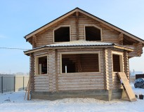 Окосячка в деревянном доме. Коломенский район
