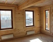 Окосячка и остекление деревянного дома в Пушкинском районе