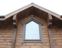 Окосячка окон в деревянном доме в Егорьевском районе