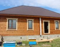 Остекление деревянного дома в Орехово-Зуевском районе