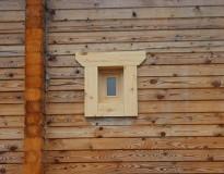 Окосячка деревянного дома из бруса